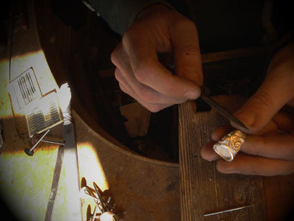 making a celtic ring