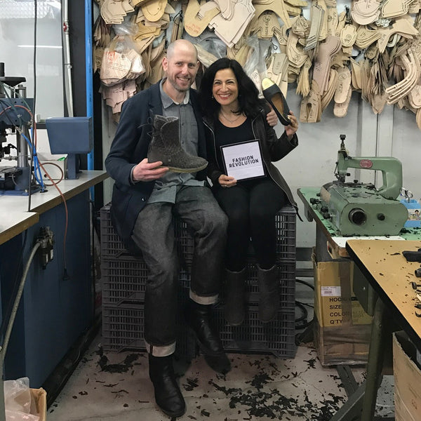 Ethical fashion leader and Founder of People Tree, Safia Minney joins sustainable footwear brand Po-Zu