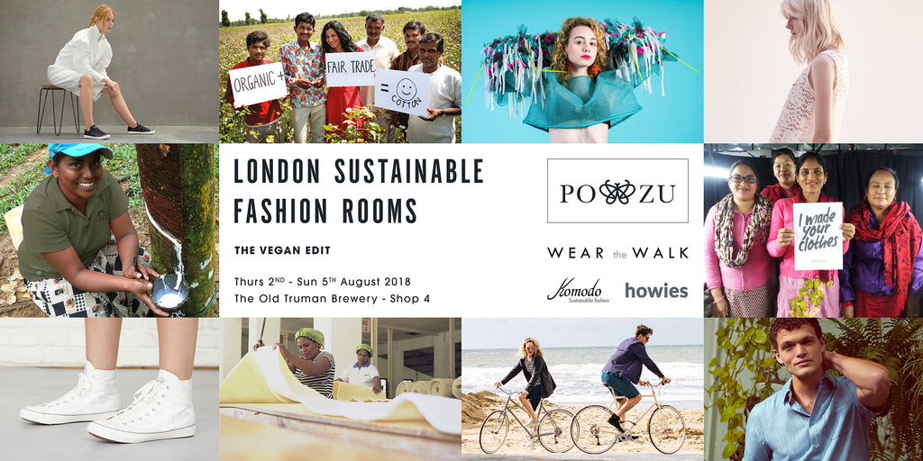 London Sustainable Fashion Rooms Vegan Festival
