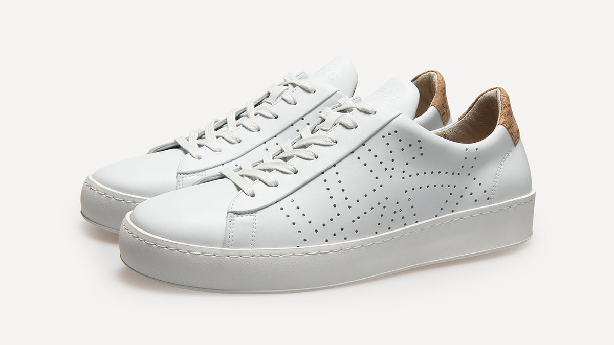 479c7b0876f Say hello to our Vegan Sneaks for men and women. Replacing our existing  chrome-free leather trainers, the new sneakers are made with a vegan  leather that ...