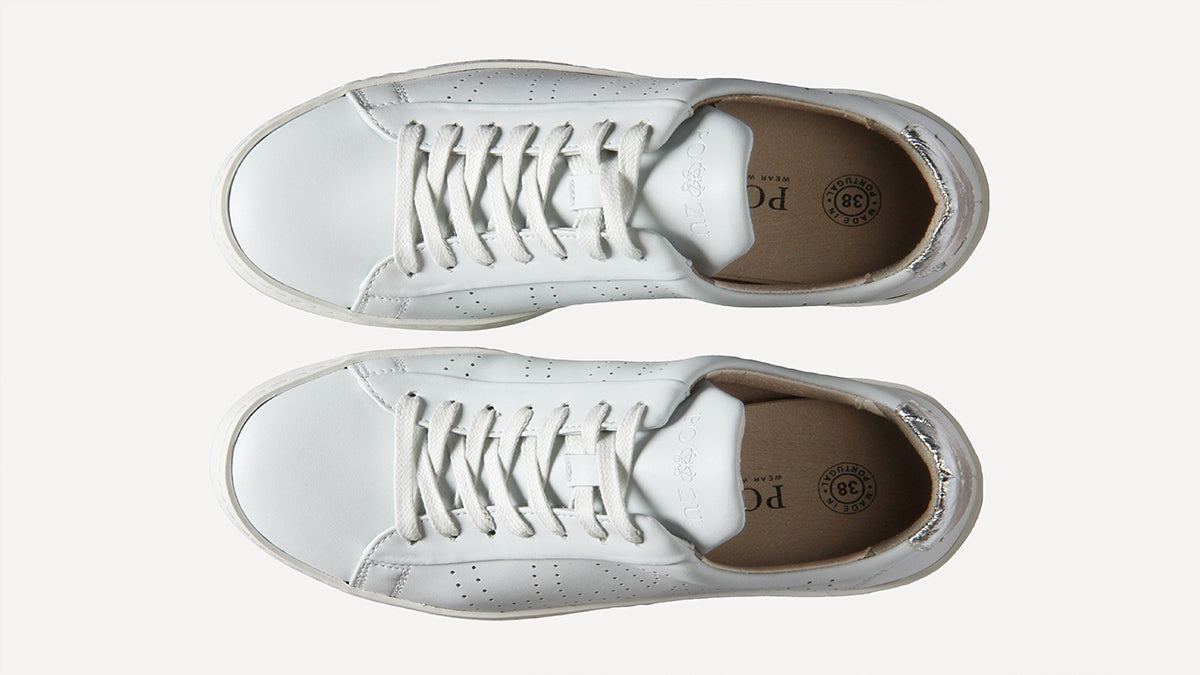 0f9aefd928e Shop our white vegan sneakers for men or women, or check out our full range  of vegan shoes here. If you're still wondering if Po-Zu is right for you,  ...