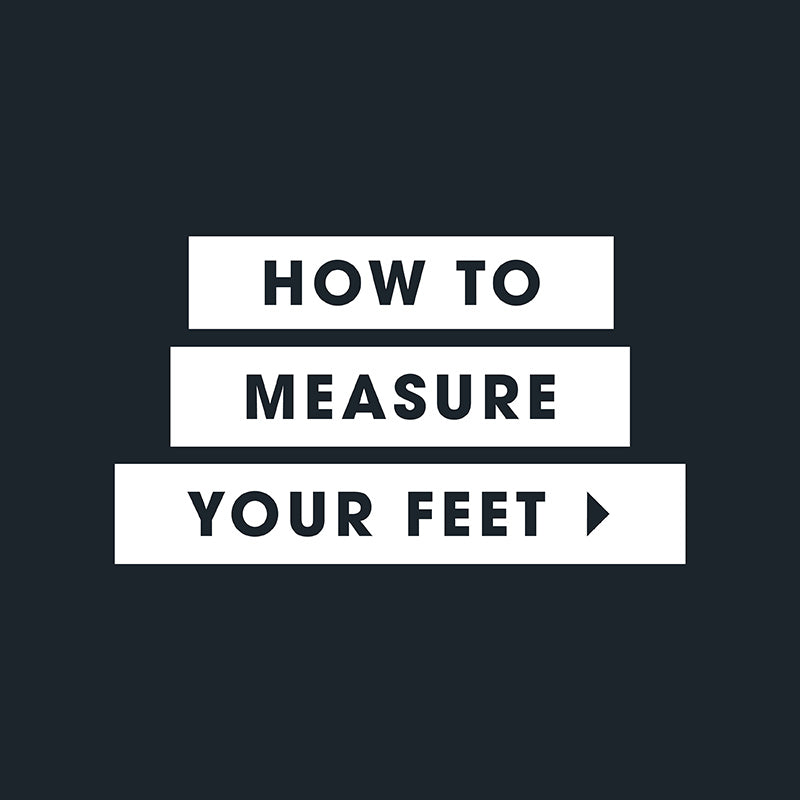 po-zu how to measure your feet