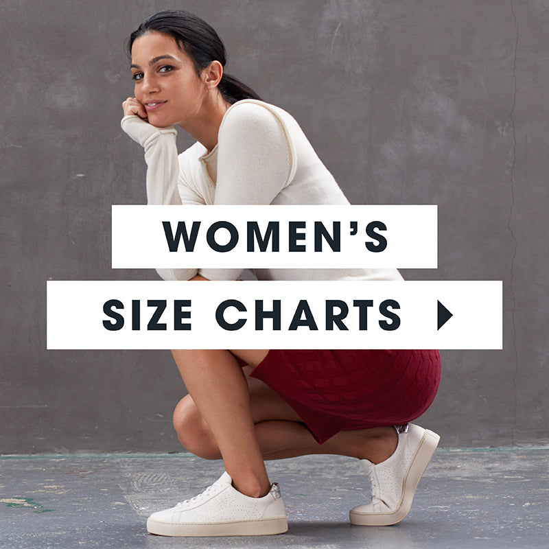 po-zu womens sizing chart