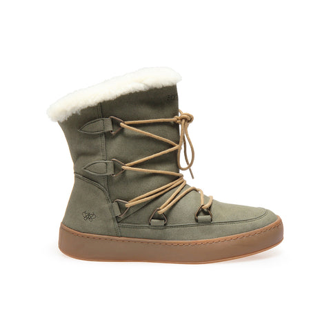 po-zu moon boot vegetarian wool