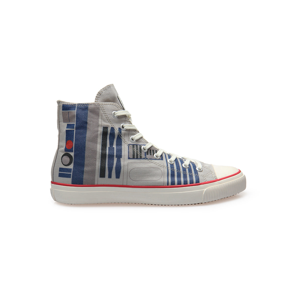 cbc5b70efe OFFICIAL Star Wars Mens R2-D2 High Top Vegan sneaker