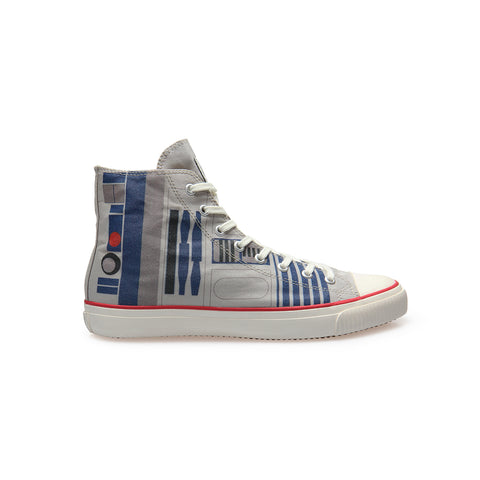 Pre-order R2-D2 - High-Top Sneakers - Unisex