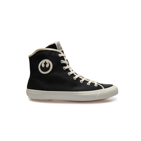 REBEL Black - High-Top Sneakers - Unisex