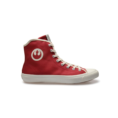 REBEL Red - High-Top Sneakers - Unisex