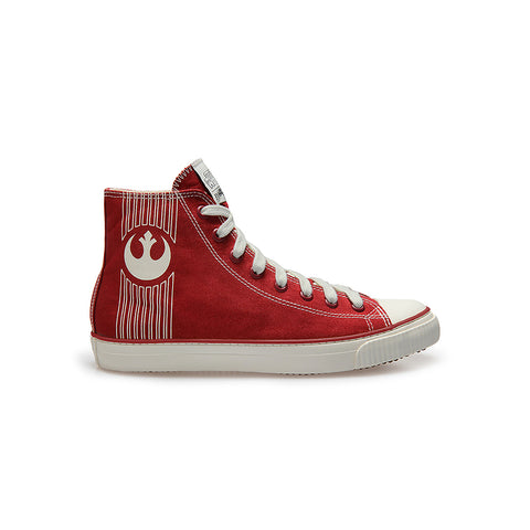 REBELLION Red - High-Tops - Womens