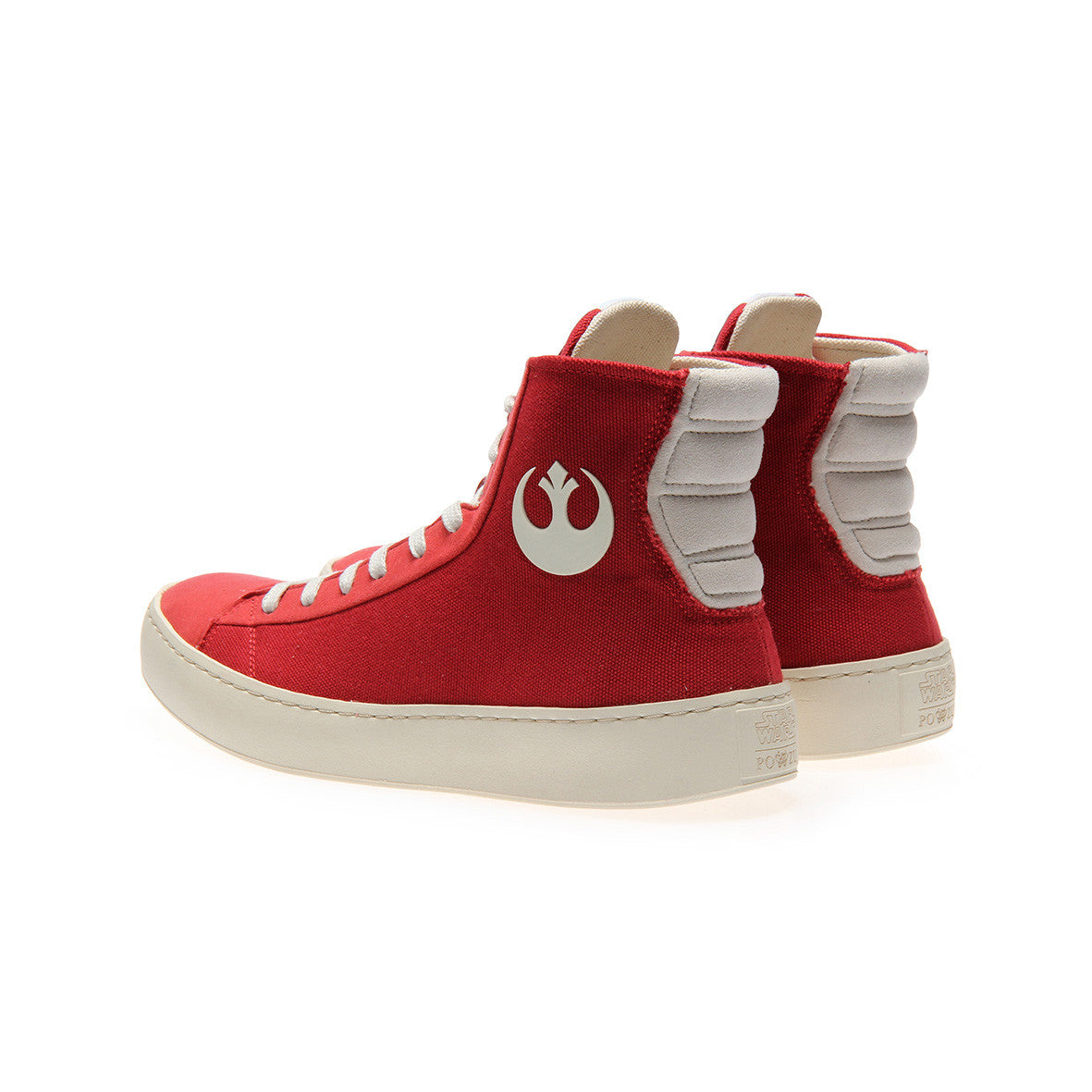 8f929129f7 OFFICIAL Star Wars Mens RESISTANCE Red High Top Sneaker