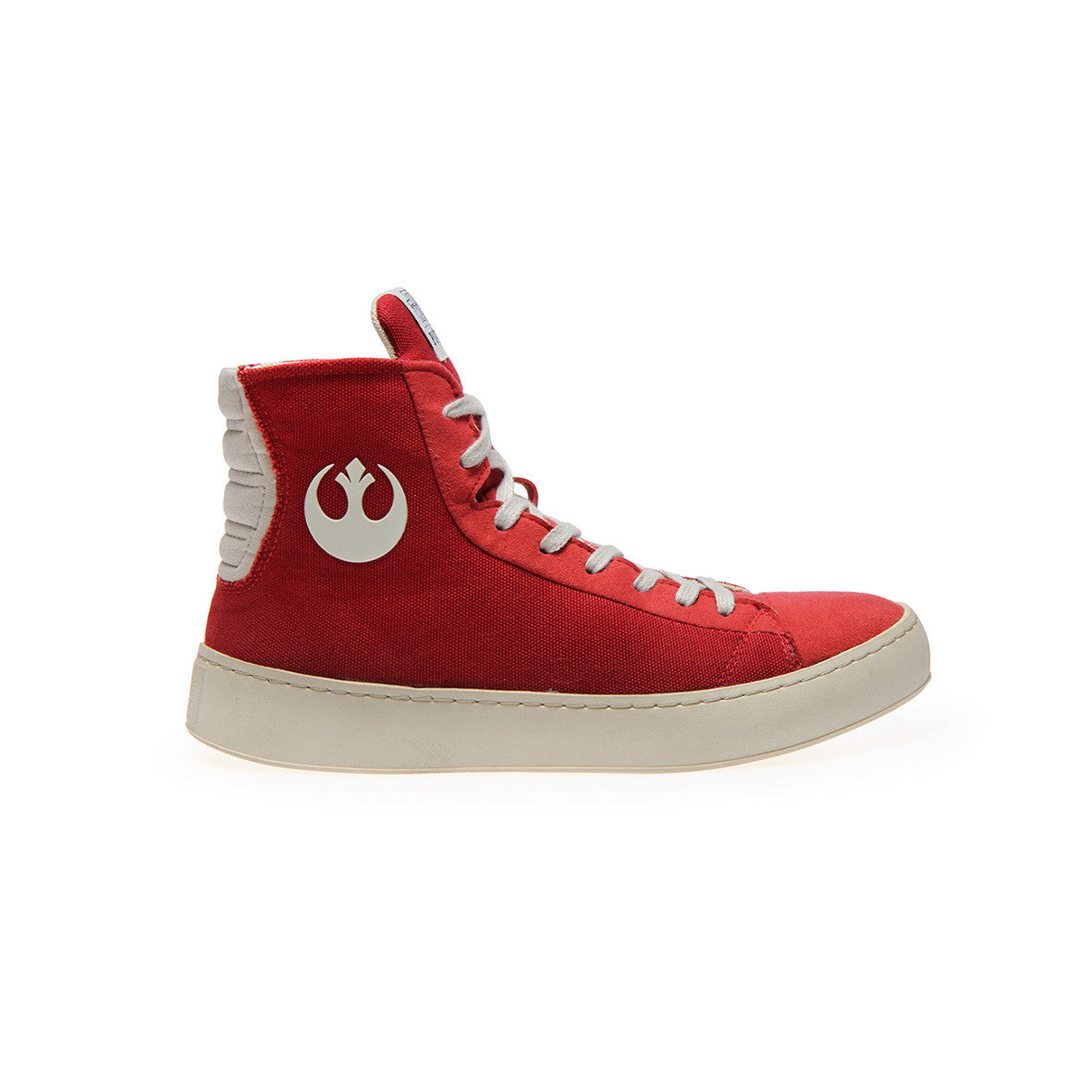 Star Wars Sneakers >> Official Star Wars Womens Resistance Red High Top Sneaker