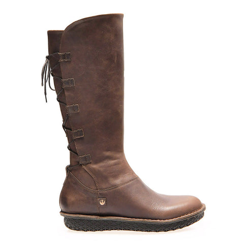 REY Hi Boot- brown - women's