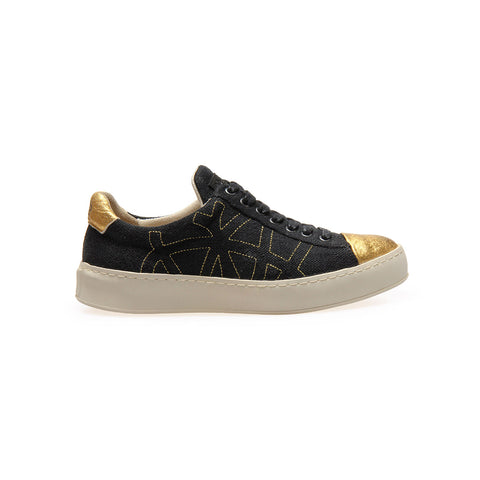 Sneak C Black Gold - Women's
