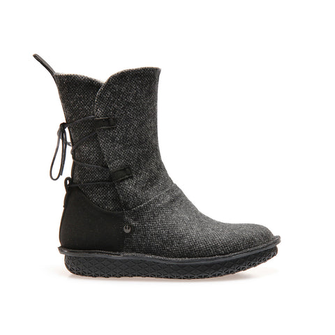 REY - Black Tweed - Women's