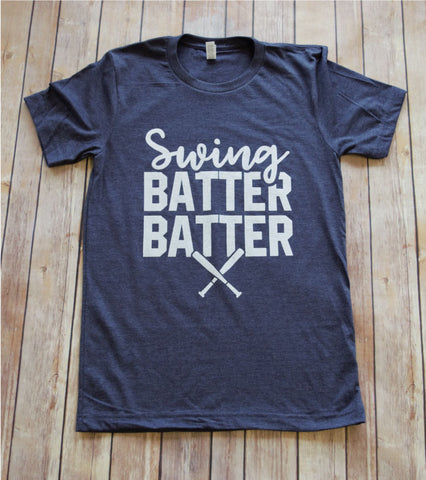 Swing Batter Batter -- Navy