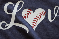 Love Baseball -- Navy