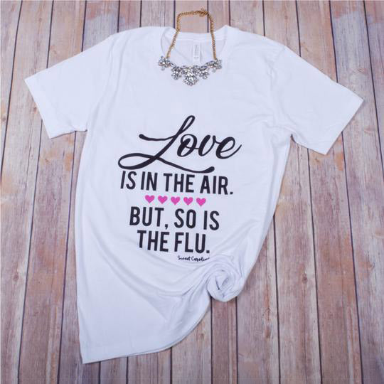 Love/Flu Tee -- White