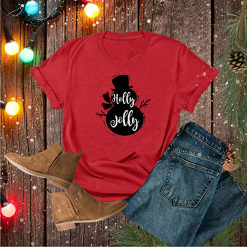 Holly Jolly with Glitter