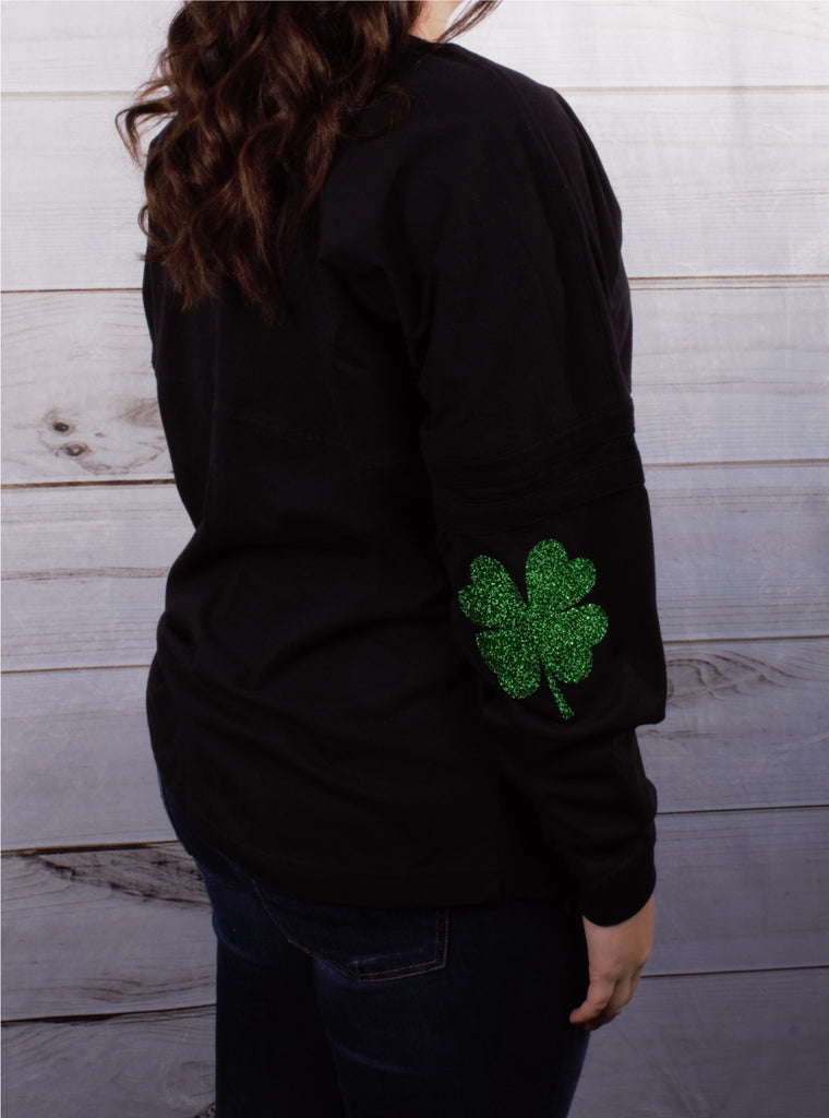 Shamrock Elbow -- Black