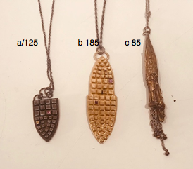 Archive Messenger Necklaces***