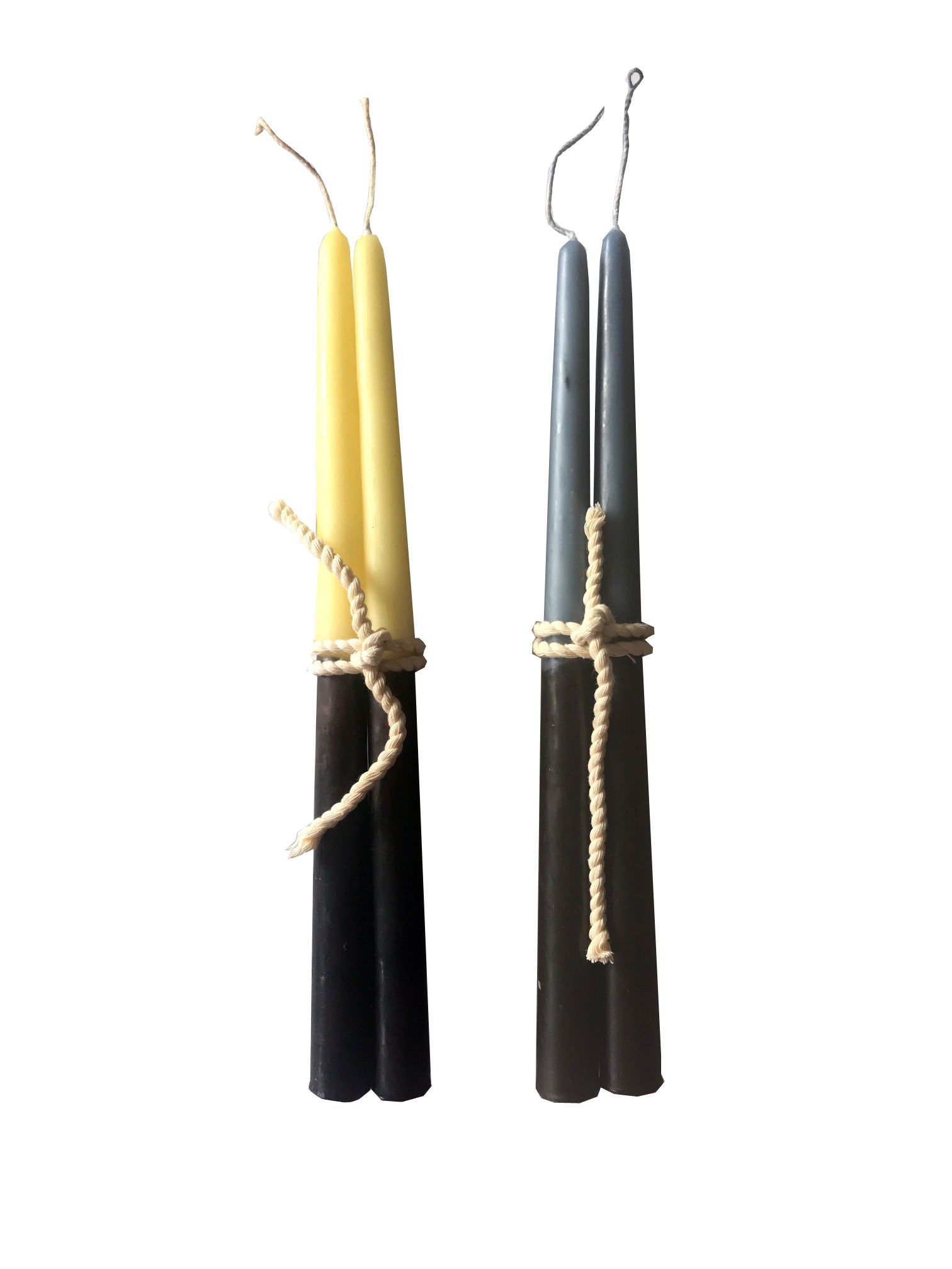 Handmade Beeswax Taper Candles