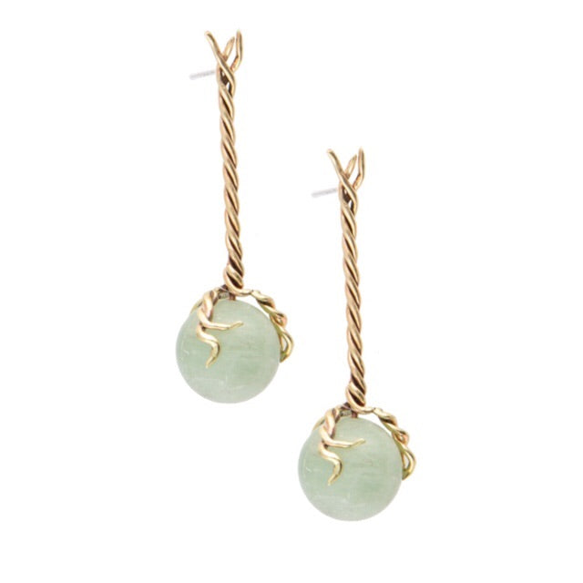Quartz Vine Earrings