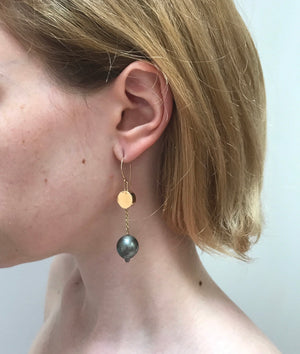 Mirror Dive Earrings