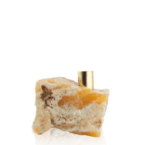 *Golden Calcite Candlestick