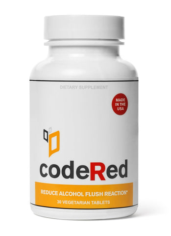 codeRed | Reduce Alcohol Flush Reaction
