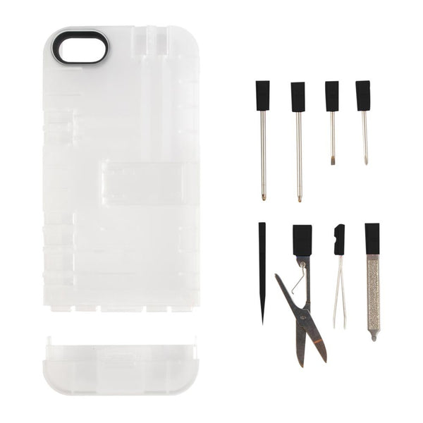 IN1 Case with Tools for iPhone® 5 and iPhone 5s, Clear
