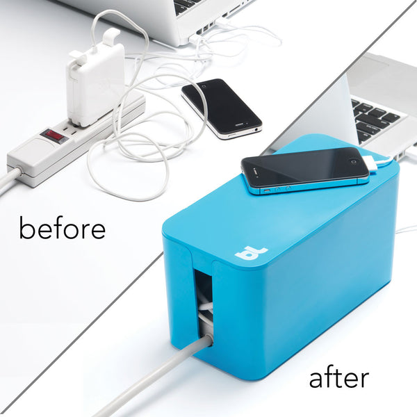 Bluelounge CableBox Mini Cable Management System