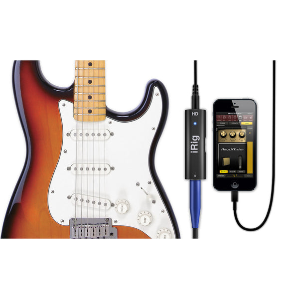 AmpliTube iRig HD Guitar Interface for iOS