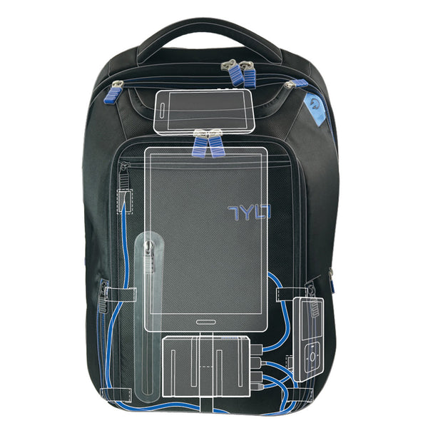 TYLT Energi Plus Backpack with Built-in Battery