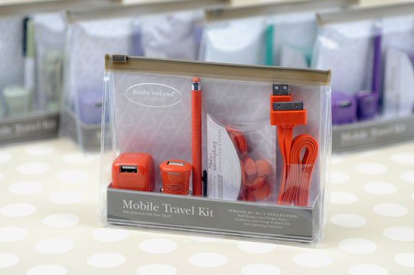 kathy ireland® CONNECT Mobile Travel Kit for iPhone® 4 & iPhone 4S