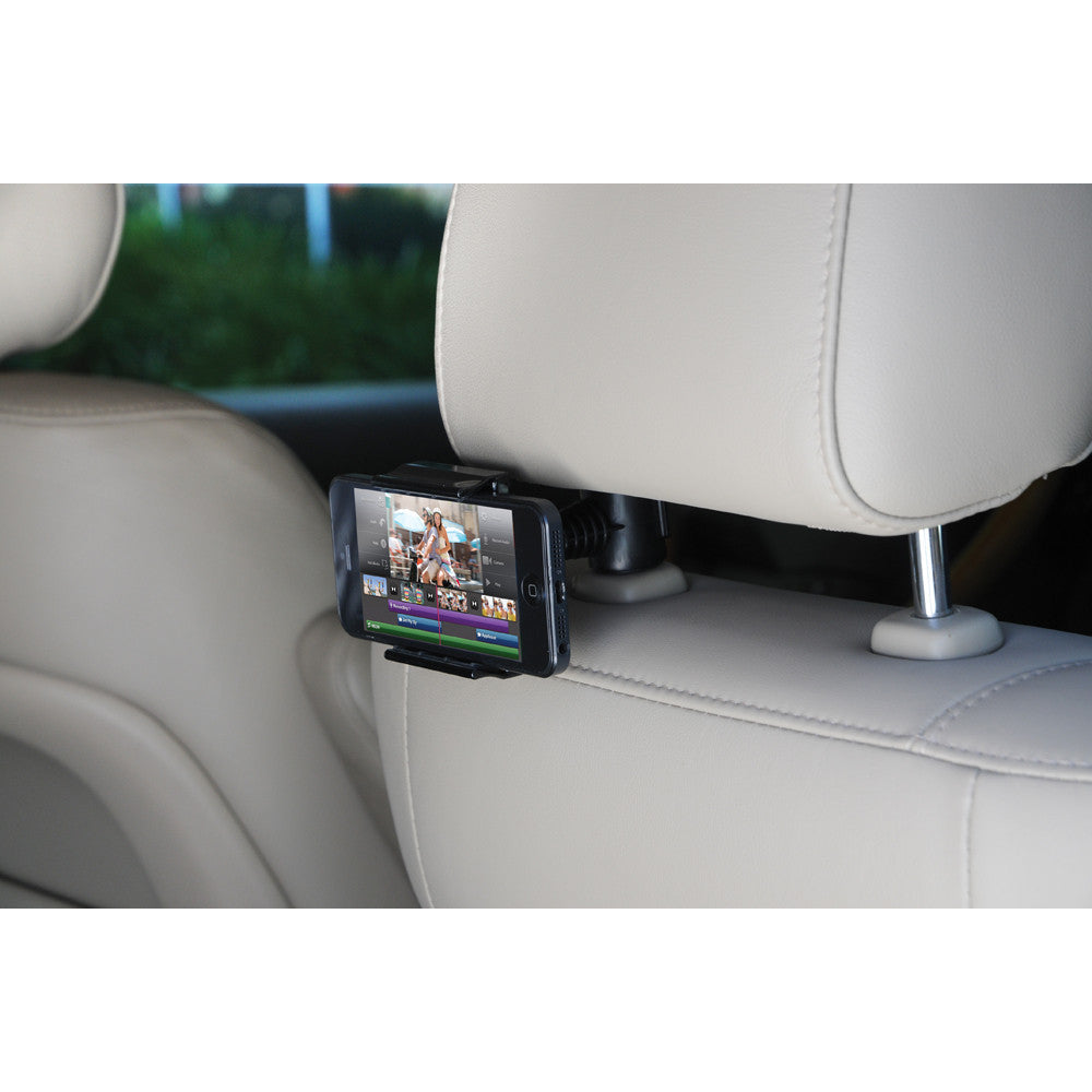 Satechi Universal Headrest Mount, Smartphone, 3.5 to 6.5in,  Black