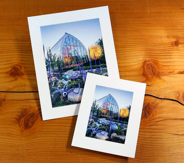 Glasshouse Matted Photo