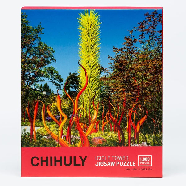 Icicle Tower Jigsaw Puzzle