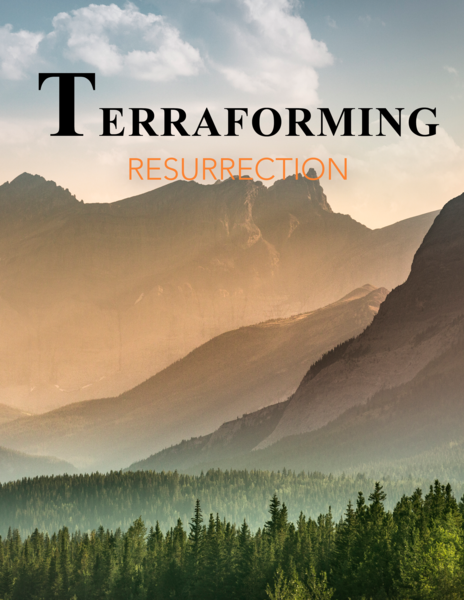 Terraforming Resurrection Softcover with DVD ROM
