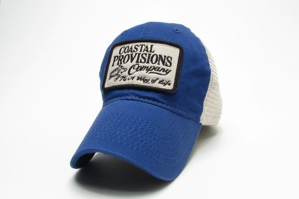 Legacy Mesh Trucker Hat - Royal Blue