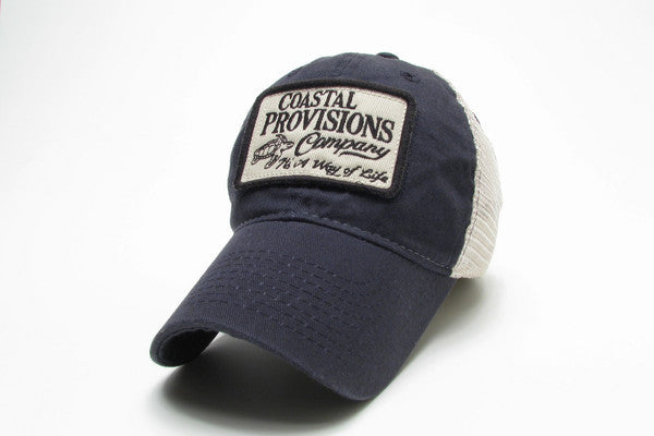 Legacy Mesh Trucker Hat - Navy Blue