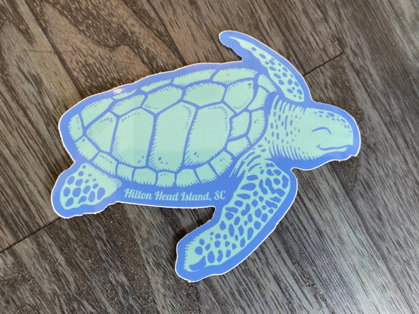 Classic Turtle Decal