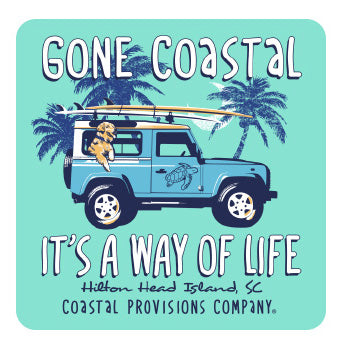 Gone Coastal Decal