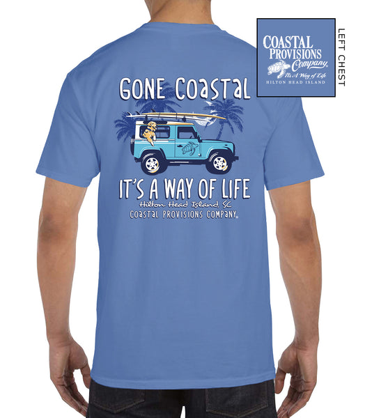 Gone Coastal T-Shirt- Flo Blue