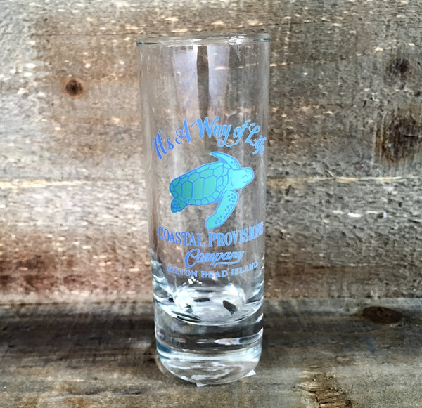 Coastal Provisions Shot Glass