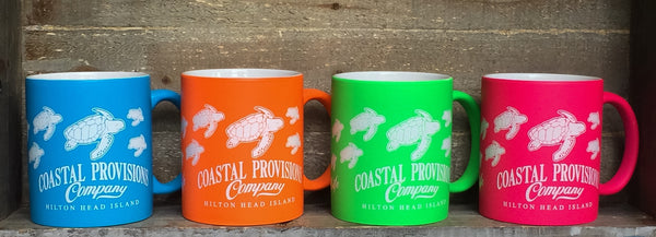 Coastal Provisions Coffee Mugs
