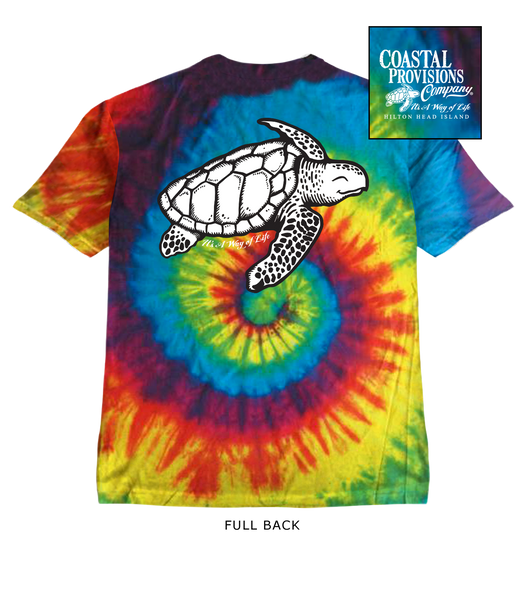 Youth Tie Dye Shoogie the Sea Turtle