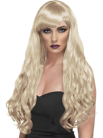 Desire Wig, Long, Curly with Fringe