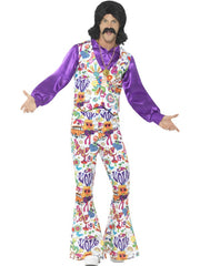 60,s Groovy Hippy Costume - Male