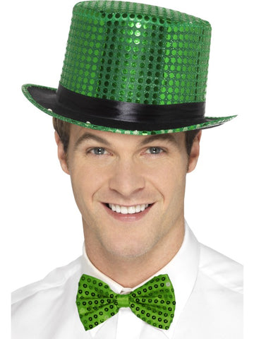 Top Hat, Green Sequin