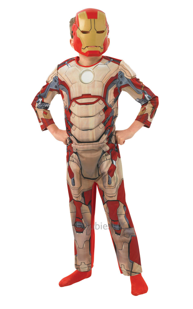 d1f38619c2db Iron Man 3 (Child) DeLuxe Muscle Chest – Masquerade